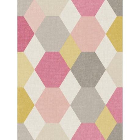 Papier peint géométrique Arlequin - SWING - Caselio
