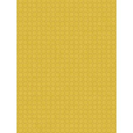 Papier peint jaune Semi Allower- SWING - Caselio