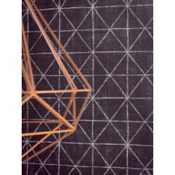 Papier peint intissé graphique motif losange ardoise - SCANDINAVIAN STYLE - AS CREATION