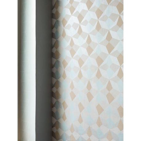 Papier peint Origami bleu, saumon et argent - SCANDINAVIAN STYLE -  AS Creaction - 341332