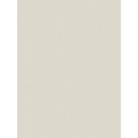 Papier peint intissé enfant à motif Pois beige - MY LITTLE WORLD Casadeco