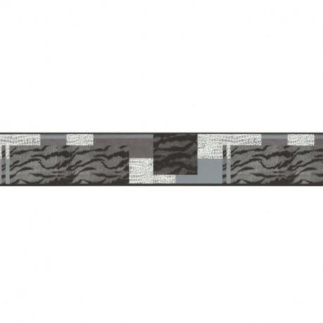 Frise adhésive Safari Peaux de Bêtes gris - Lutèce - 27150509-A