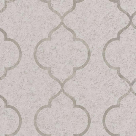 Papier peint ornement beige et doré - Material - Caselio
