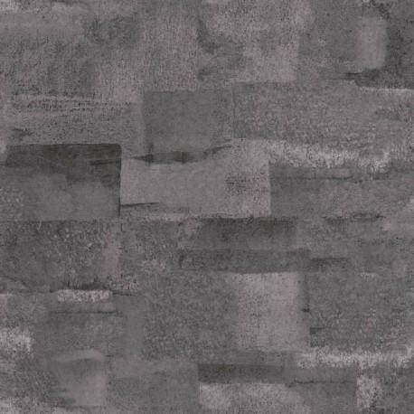 Papier peint Effet Béton gris foncé - MATERIAL - Caselio - MATE69669163
