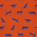 Papier peint Félin Pour l'Autre rouge - SMILE - Caselio - SMIL69743712