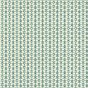 Papier peint Flower Power bleu canard - SMILE - Caselio - SMIL69786606