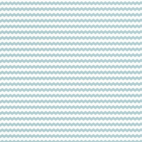 Papier peint chevronné bleu - Smile - Caselio