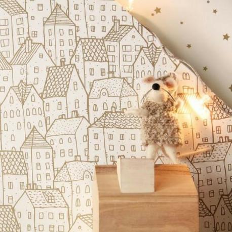 Papier peint Maison doré - PRETTY LILI - Caselio - PRLI69212000