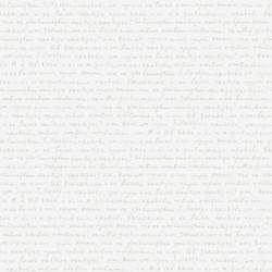 Papier peint pour enfant WORDS, blanc PRETTY LILI, CASELIO