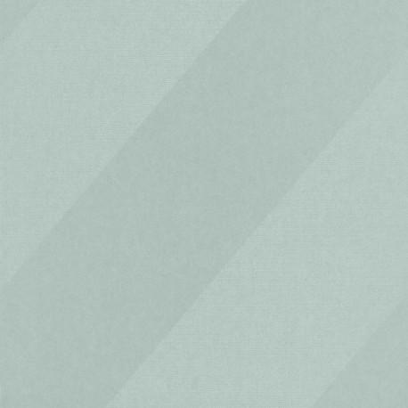 Papier peint Oblique vert et argenté - HELSINKI - Casadeco - HELS82067116
