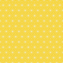 Papier peint Origami jaune et blanc - GRAPHIQUE Ugepa