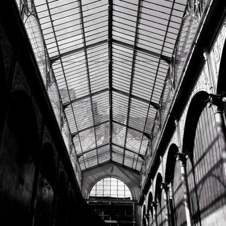 Panoramique Toiture et Verrière noir et blanc - FACTORY III - Rasch - 940923