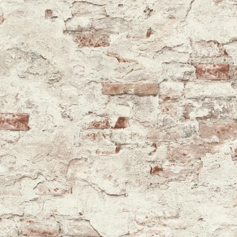 Papier Peint Effet Mur De Briques Collection Factory Iii