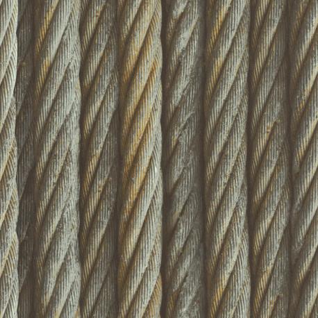 Papier peint corde  - Factory III - Rasch