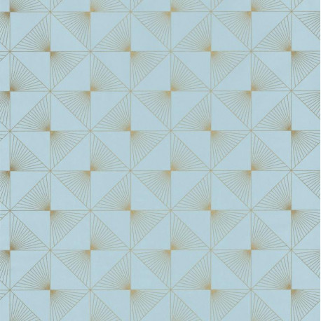 Papier peint Lines bleu clair - SPACES - Caselio - SPA100136199