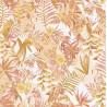 Papier peint Paradise Motifs tropicaux et triangulaires rose – JUNGLE - Caselio