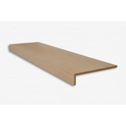 Marche stratifiée chêne brut placage bois - Concept d'escalier Maëstro Steps
