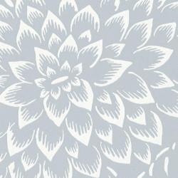 Papier peint floral HANA gris clair - HANAMI - Caselio