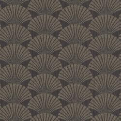 Papier peint PEARL gris anthracite et or - SCARLETT - Caselio