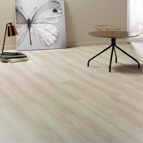 Sol Stratifié blanc Coton 502W - Domofloor ALSAFLOOR
