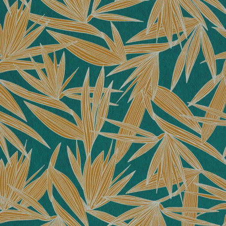 Papier peint Alizarine bleu anglais - PORTFOLIO - Casamance - 73960548