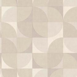 Papier peint à motif Hélice gris - INSPIRATION WALL - GRANDECO