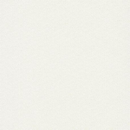 Papier peint points GOMA blanc / Gold - HANAMI - Caselio