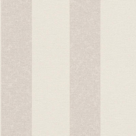 Papier peint Rayures gris beige - Florentine 2 - Rasch