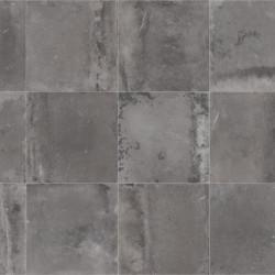 Sol vinyle BROOKLYN 999D - Largeur 4m - dalles grises Vintage - Beauflor