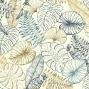 Papier peint Perroquet Graphique Bleu - SEJOURS ET CHAMBRES - Lutèce - 51193401