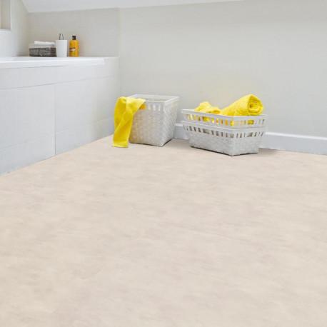 Sol PVC - Madras White effet béton clair - Texline GERFLOR - rouleau 4M