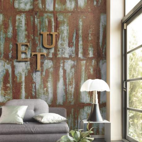 Panoramique OXYDATION marron - Beauty Full Image par Casadeco