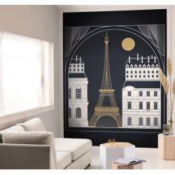 Panoramique SCARLETT BY NIGHT noir - Beauty Full Image par Caselio