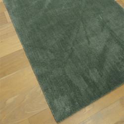Tapis extra doux uni vert kaki - 120x170cm - FEEL - Balta