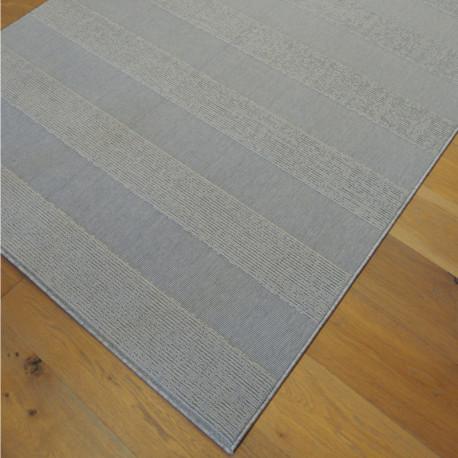 Tapis SFYNX bouclé structuré gris clair - 140x200cm