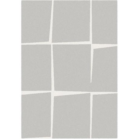 Tapis à motifs géométriques gris clair - 120x170cm - Shuffle - BALTA