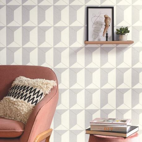 Papier peint Rythm gris doré - MOOVE - Caselio MVE101339000