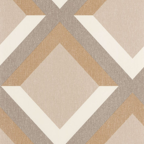 Papier peint Groove beige taupe doré blanc - MOOVE - Caselio MVE101341804