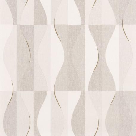 Papier peint Ondulation beige - MOOVE - Caselio MVE101381212