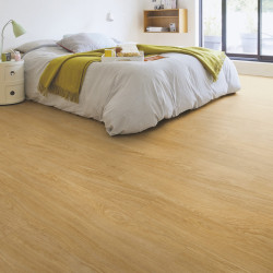 QUICK STEP - Lame PVC clipsable avec quatre chanfreins - Livyn Balance Click - chêne naturel select