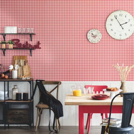 Papier peint marmelade beige - Au bistrot d'Alice - Caselio