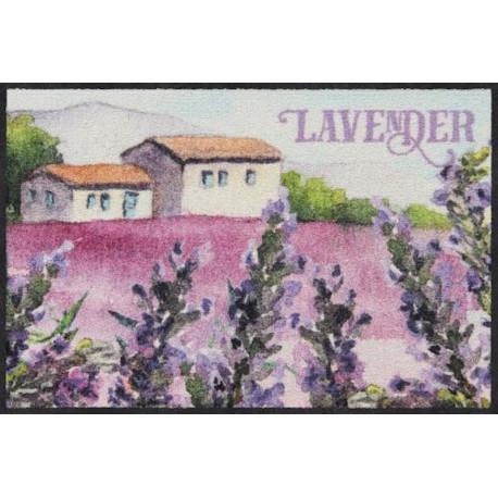 Tapis de propreté - paillasson paysage- lavande houses - EFIA