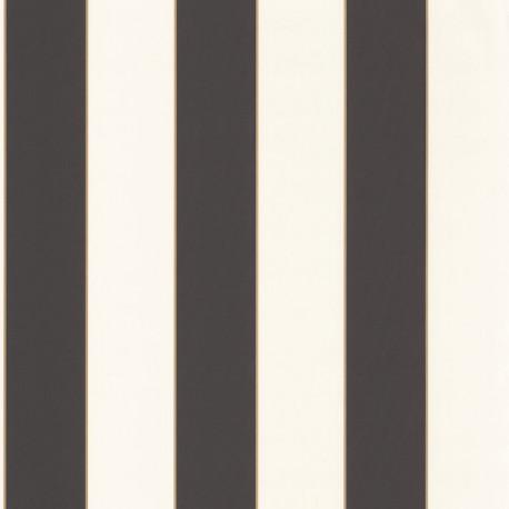 Papier peint Golden Lines Or Noir -MOONLIGHT- Caselio MLG101072092
