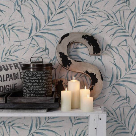 Papier peint floral léger AS373351 - Greenery - AS CREATION