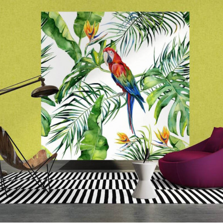 Panoramique Parrot I -116614- Greenery - AS CREATION