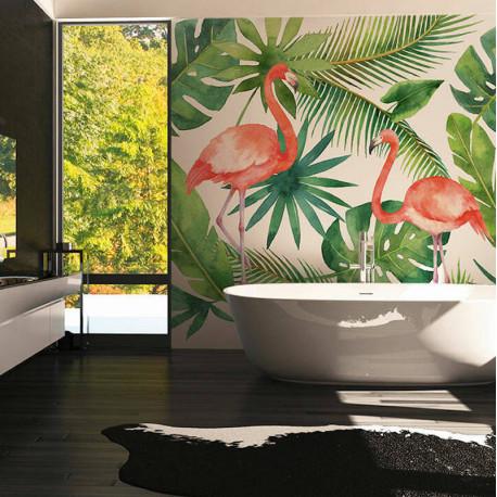 Panoramique Flamingo I -116612- Greenery - AS CREATION