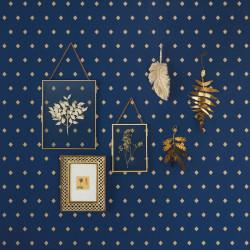 Papier peint Talisman bleu doré -MYSTERY- Caselio MYY101626409