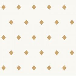 Papier peint Talisman blanc doré -MYSTERY- Caselio MYY101620031