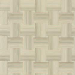 Papier peint Longevity vert d'eau doré -MYSTERY- Caselio MYY101647811