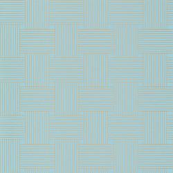 Papier peint Longevity bleu indien doré -MYSTERY- Caselio MYY101646103